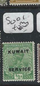 KUWAIT   (PP2704B) ON  INDIA KGV  SERVICE  1/2A  SG 01    MOG