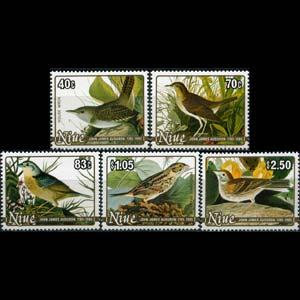 NIUE 1985 - Scott# 466-70 Birds Set of 5 NH
