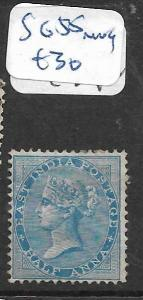INDIA  (PP2402B)  QV 1/2A  SG 35  MNG