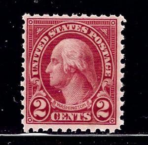 U.S. 583 MNH 1924 issue