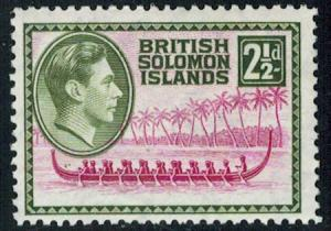 Solomon Islands Scott 71 Unused lightly hinged.
