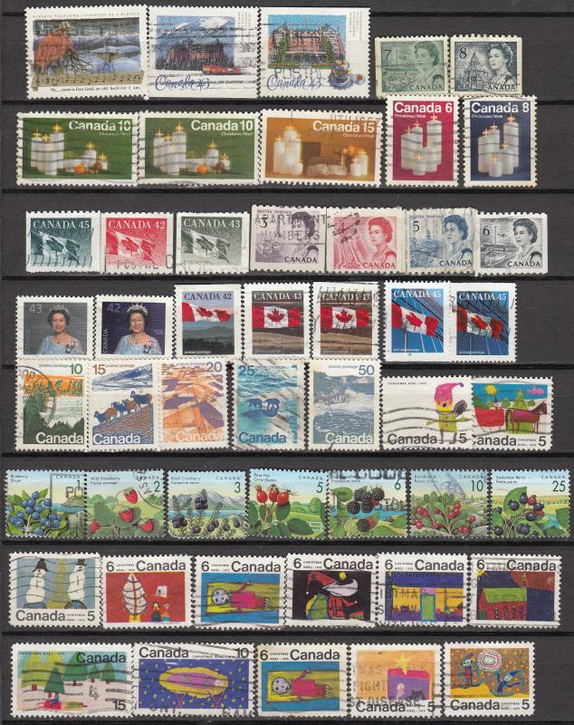 Canada - 50+ stamp lot #6 - (710)
