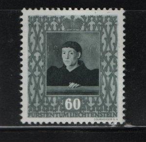 LIECHTENSTEIN 232 Hinged, 1949 French Painter 1456 Fouquet