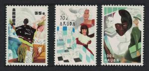 Aruba Women and Work 3v 1991 MNH SG#93-95