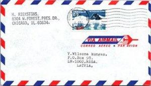 United States, Illinois, Latvia