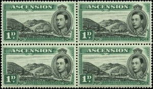 Ascension Scott #41 Block of 4 Mint Never Hinged