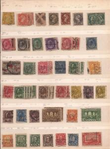 39 Canadian stamps 1870- to 1930