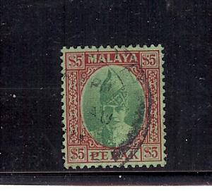 Malaya (Perak), 98, Sultan Iskandar Single,**Used**