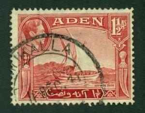 Aden 1939 #19 U SCV (2020)=$0.60