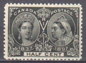 Canada #50 Mint VF OG NH C$420.00 -- Jubilee