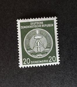 Germany DDR O22a MNH OG CV $550