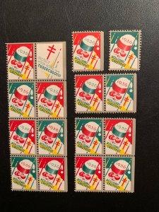 Christmas Seal 1936, CS 30, WX80, , See discription, MNH, $8.00