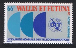 Wallis and Futuna World Telecommunications Day issue 1978 SG#286 SC#C82