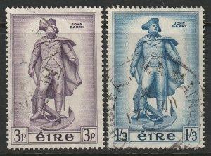 Ireland 155-156 complete set used