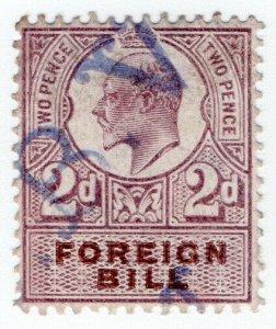 (I.B) Edward VII Revenue : Foreign Bill 2d