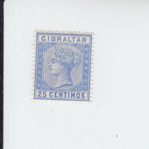 1889 Gibraltar Queen Victoria Definitive  (Scott 32) MNH