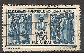 France #262 F-VF Used CV $2.75 (ST246)