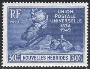NEW HEBRIDES-FRENCH SCOTT 81