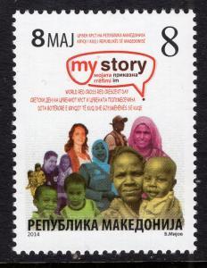 Macedonia RA168 MNH VF