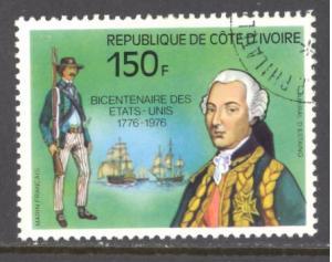 Ivory Coast Sc # 423 used (RS)