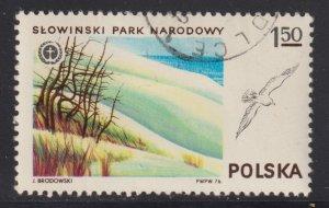 Poland 2161 Slowinski Park and Sea Gull 1976