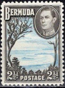 Bermuda; 1943: Sc. # 120Ab: *+/MLH Single Stamp