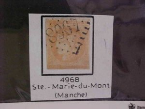 FRANCE STAMP #47E  cat.$1625.00 USED