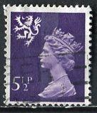 Great Britain, Regional, Scotland; 1974: Sc. # SMH6: O/Used Single Stamp