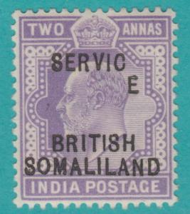 SOMALILAND PROTECTORATE O8  MINT NEVER HINGED OG**  Dropped E variety RARE !