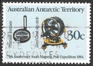 Australian Antarctica # L57 Used