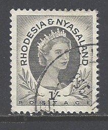 Rhodesia & Nyasaland Sc # 149 used (RS)