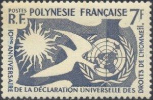 French Polynesia Scott #'s 191 MNH
