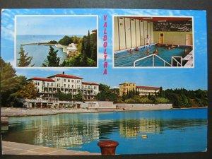 4498 Cartolina Postcard Valdoltra usata 105