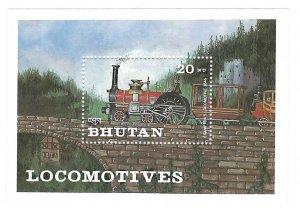 Bhutan  SS   Cramptons   Mint NH VF  PD