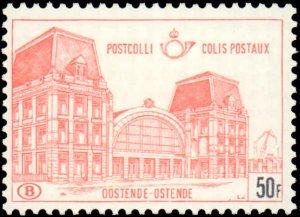 Belgium #Q418, Incomplete Set, 1971, Never Hinged