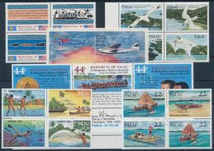 Palau stamp 19 stamps with relations + 1 block MNH 1983 WS175829