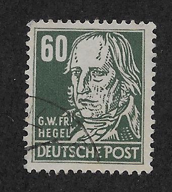 GERMANY - DDR SC# 10N42 FVF/U