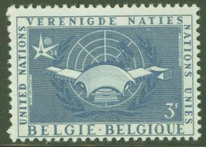 Belgium Scott 521 MH* 1958 stamp