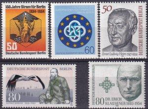 Germany #9N492-6  MNH  CV $5.30 (Z4269)