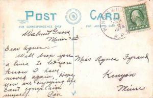 United States U.S. R.P.O.'s Winona & Huron 1914 866-AB-2  PC  Some discolorat...