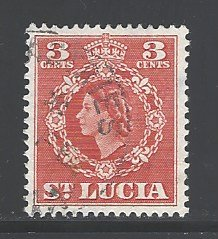 St. Lucia Sc # 159 used (RS)