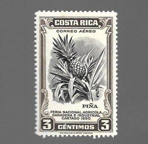 Costa Rica 1950 - Unused - Scott #C199