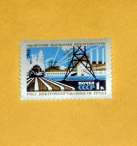 Russia - 3078, MNH - Electric Power. SCV - $0.25