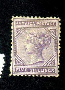 JAMAICA 15 MINT FVF OG HR Cat $125