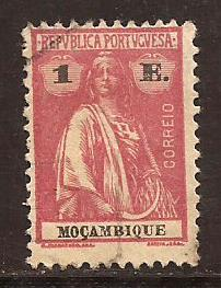 Mozambique  #  185  used