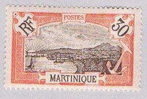 Martinique 77 MLH Fort de France 1908 (BP51227)