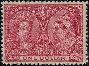 CANADA 61 FVF MH (32420)