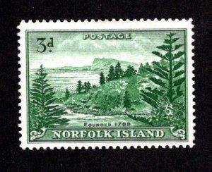 NORFOLK ISLAND  SC# 23  FVF/MLH