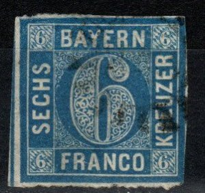 Bavaria #11 F-VF Used CV $12.00 (X252)