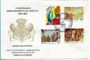 REP. DOMINICANA DOMINICAN REPUBLIC 1986 V CENTENARY OF DISCOVERY OF AMERICA HIST